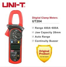 UNI-T UT204 Clamp Multimeter True RMS Auto Range 400-600A Digital Clamp Meters