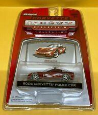 Greenlight 1:64 Corvette Collection LE 2006 Corvette Police Car - Red