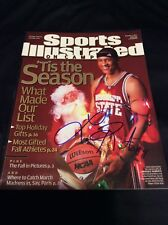 LAWRENCE ROBERTS SIGNED SPORTS ILLUSTRATED MISSISSIPPI STATE NO LABEL AUTO COA