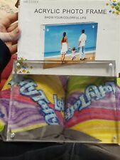 Acrylic Photo Frame 6×8
