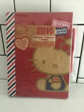 New Vintage Hello Kitty Journal Diary Red Blue 8x10