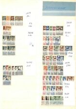 [OP9462] Europe lot of stamps on 12 pages