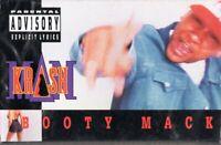 Krash Man Booty Mack Rap Hiphop Cassette Tape Single New Sealed