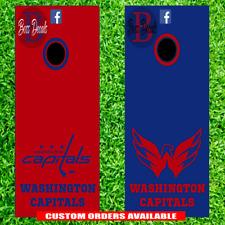 Washington Capitals Cornhole Decal Set of 6 Vinyl Decals Stickers Corn Hole nhl