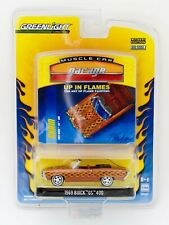 Greenlight Muscle Car Garage Up In Flames 1969 Buick GS 400 1:64 diecast car MOC