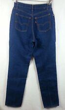"""Vtg 80s Levis High Waist Mom Jeans Tapered Leg Women's 13 ~ 27.5"""" x 33.5"""" Misses"""