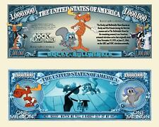 The Adventures of Rocky & Bullwinkle Million Dollar Novelty Money