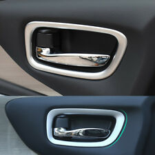 Fit For Nissan Murano 2015-2018 Chrome Inner Door Handle Bowl Cover Trim Garnish