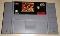 WWF Raw wrestling wwe Super Nintendo SNES Vintage retro original game cartridge