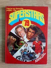 More details for superstars 79 annual vintage tv/film/pop hardback book