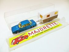 MAJORETTE 315 'VW/VOLKSWAGEN K70 & CARAVAN SET. 1:60. NMIB/BOXED. VINTAGE. RARE