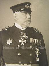 TOP Portrait: Großadmiral von Koester, Großkreuz Roter Adler Orden, Interimstab