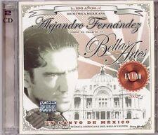 Un Canto De Mexico En Vivo Alejandro Fernandez 2 CD Set