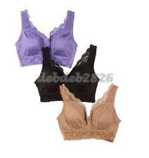 Rhonda Shear Pin Up Girl Lacy Bra 3 pack SIZE X SMALL