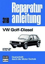 Reparaturanleitung VW Golf 1 Diesel ab Herbst 1976 bis Aug. 1980 @@ NEU&OVP @@