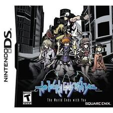 The World Ends With You Ds Game Ds Game (NEW NEVER USED) AUSTRALIAN SELLER