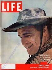 LIFE Magazine April 4 1960 Marlon Brando,Toys In The Attic Opens, Prince Andrew