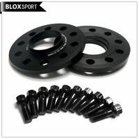 BLOX SPORT 10mm PCD 5x130 cb 71.6 Wheel Spacer HUB CENTRIC inc m14x1.5 bolts
