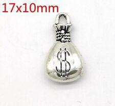 Tibetan silver Beautiful  fashion purse  pendant Bracelet jewelry 20pcsB#