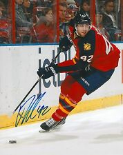 QUINTON HOWDEN signed FLORIDA PANTHERS 8X10 PHOTO COA B