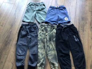 Boys Clothes Shorts & Joggers Bundle Age 4-5 Years
