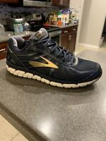 Brooks Beast 16 Men's Shoes Size 11.5 2E Wide Navy Running Athletic 1102272E413
