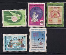 Burma/Myanmar  1974   Sc # 239-43   MNH   (3-5200)
