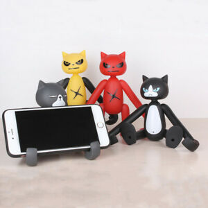 Universal Cute Mobile Phone Holder Mount Stand Desktop Bed Selfie Home Car Decor