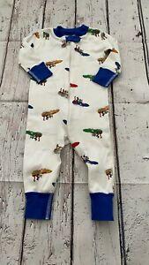Hanna Andersson baby boy pajamas 9-12 months old/70 cm   SU21A