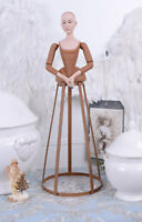 Frauenbüste PUPPE Landhaus MODEPUPPE SCHMUCKPUPPE Büste Gliederpuppe Antik Figur