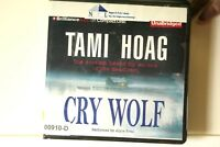 AUDIO BOOK on CDs CRY WOLF Tami Hoag
