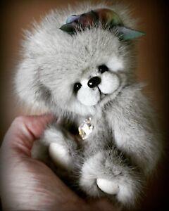 Blythe Miniature artist ElleryBears SweetDaysDolls Ingrid Gilbert Bear