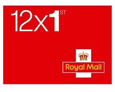 More details for 240x brand new (20 book) 1st class stamps free postage royal mail