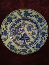 Antico piatto in porcellana da collezione marchio Meissen