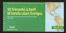 Iceland 1994 Europa St Brendans Voyage's Stamp Booklet  SB19 UM