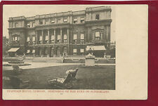 Rare Early Postcard.Stafford House.Residende of the Duke of Sutherland.H5
