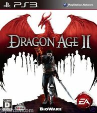 Used PS3 Dragon Age II PLAYSTATION 3 SONY JAPAN JAPANESE IMPORT
