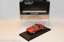 . MINICHAMPS VW VOLKSWAGEN PORSCHE 914 1969-1973 RED MINT BOXED