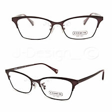 3943468fa2 COACH HC5041 (Terri) 9141 (Satin Burgundy Satin Dark Silver) Eyeglasses Rx