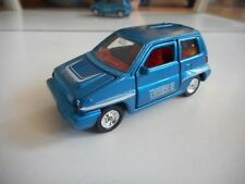 Tomica Dandy Honda City + Moped in Blue/Yellow on 1:43