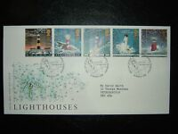 1998 LIGHTHOUSES ROYAL MAIL FDC & PHILATELIC BUREAU SHS CV £6