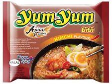 10 YumYum KIMCHI Instant Nudelsuppen 10 x 60g Yum Suppe Kimchigeschmack