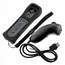 Nintendo Wii Remote Wiimote & Nunchuck Game Controller Set Combo New