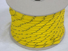Double Braid Polyester Halyard control sheet line 5/16x60 feet gold winch rope