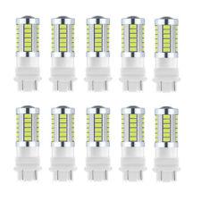 10x White 3157 LED Bulbs 5730 33SMD Reverse Turn Backup Daytime Brake Tail Light