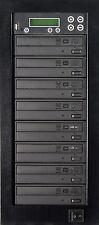 MediaStor #a43 1-7, 1 to 7 Target DVD Duplicator, Copy USB Flash Thumb to DVD