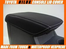 NEOPRENE CONSOLE LID COVER FITS TOYOTA HILUX SR - SR5 JUNE 2005 - AUGUST 2015