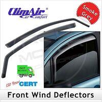 CLIMAIR Car Wind Deflectors Volkswagen Golf Mk7 3-Door 2013 onwards FRONT