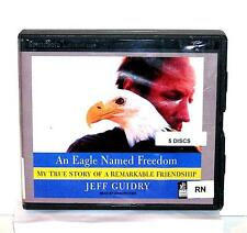 BOOK/AUDIOBOOK CD Jeff Guidry Animal Story Memoir AN EAGLE NAMED FREEDOM