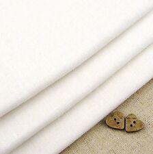 Robert Kaufman Essex Bianco Misto Lino Tessuto / Quilting Dressmaking